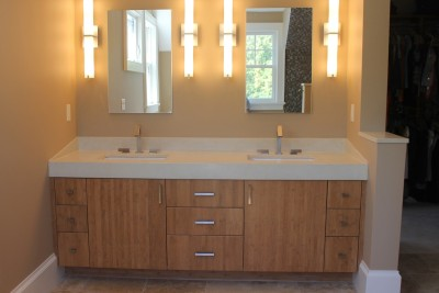 Custom Built Bathroom Vanity