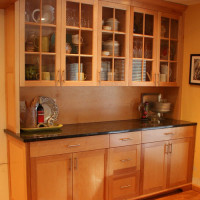 Contemporary Kitchen Custom Cabinetry