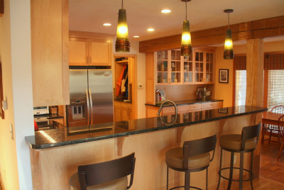 Contemporary Kitchen Design in Durham NH