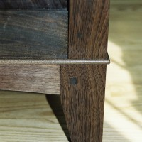 Walnut Desk Details