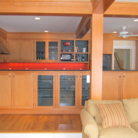 Custom Kitchen Design with Recycled Douglas Fir