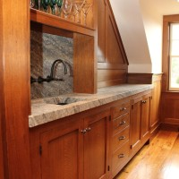 Custom Cabinetry for a Man Cave in NH