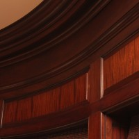 Woodworking Details for Custom Family Room