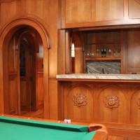 Custom Woodworking for a Liiving Area in NH