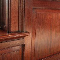 Woodworking Details for Home Theater Room