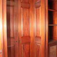 Custom Woodworking Details for Family Room