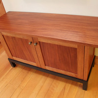 Handcrafted Mahogany TV Cabinet