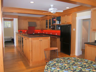 A Traditional Warm Kitchen Design in Portland ME
