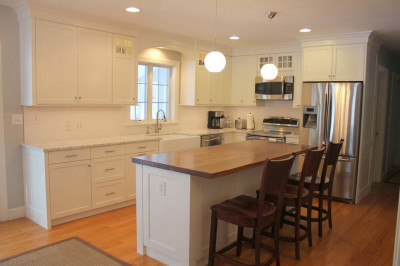Custom Designed Kitchen with a Traditional Touch
